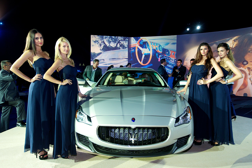 Al Tayer Motors launches Maserati Quattroporte (Supplied)