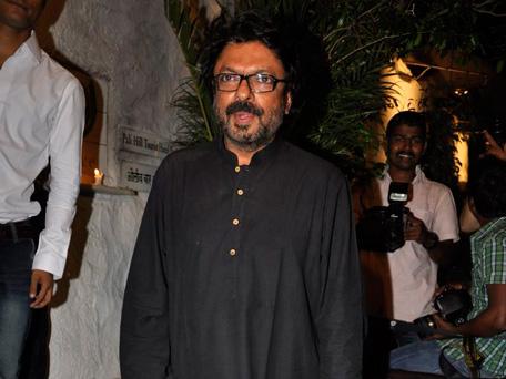 Bollywood filmmaker Sanjay Leela Bhasali celebrating his birthday, February 24, 2013. (Sanskriti Media and Entertainment)
