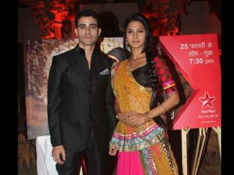 Gautam Rode and Jennifer Winget at the launch of 'Saraswatichandra'. (SUPPLIED)