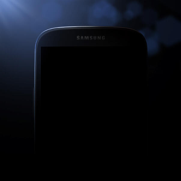 (PICTURE CREDIT: Samsung Mobile US / Twitter) Galaxy S4: Official image 'leaked' by Samsung on Twitter before March 14 launch
