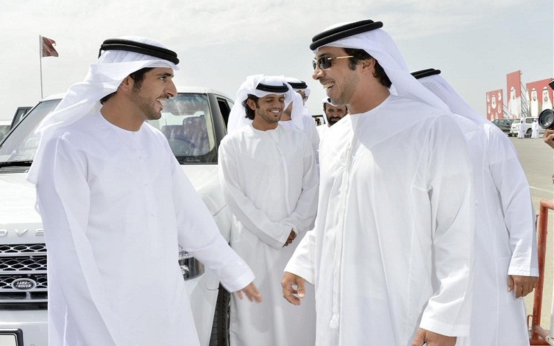 Sheikh Hamdan and Sheikh Mansour (WAM)