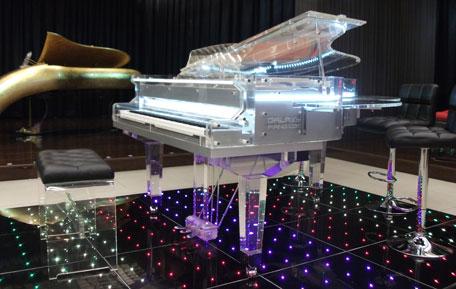 Galaxy Piano bar. (SUPPLIED)
