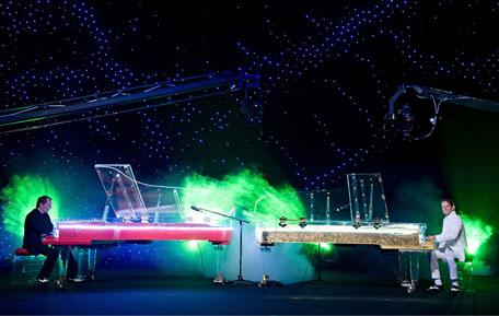 Galaxy Piano concert. (SUPPLIED)