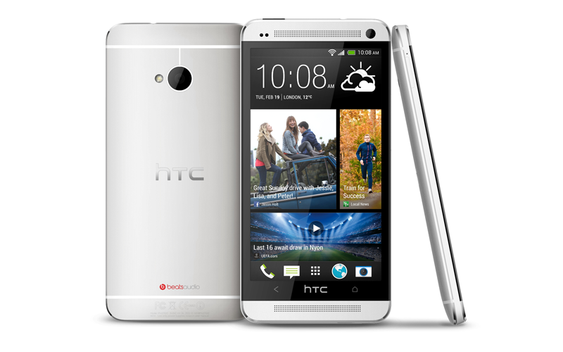 HTC One and the One Max are priced at more than Dh2,000, while the HTC One mini is priced around Dh1,500. (Supplied)