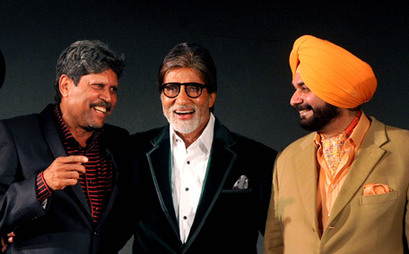 Image result for amitabh bachchan with cricketer