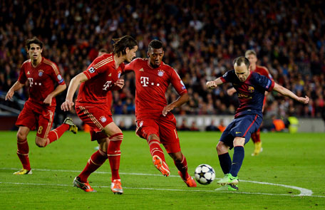 Champions League Messi Missing As Bayern Humiliate Barcelona 3 0 Sports Football Emirates24 7