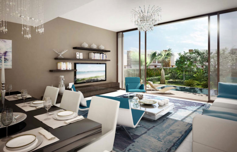 Interior of villas...artist's impression (SUPPLIED)