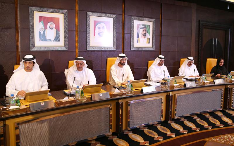His Highness Sheikh Mohammed bin Rashid Al Maktoum chairs Cabinet meeting (Wam)