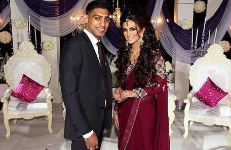 World Champion boxer Amir Khan and Faryal's engagement. (asianweddingexperience.wordpress.com)