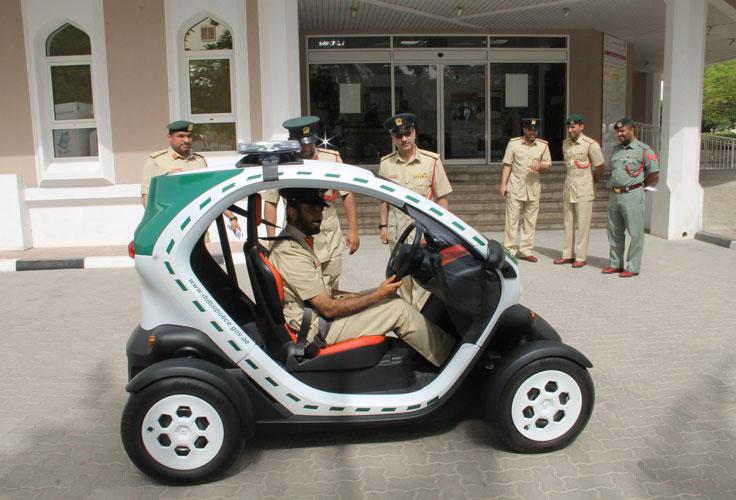 After super cars, Dubai Police launches eco-friendly mini