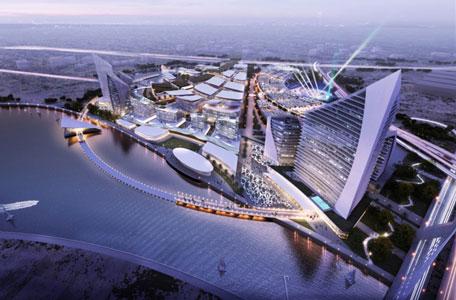 Mohammed announces 39 dubai design district 39 near business for Nearest hotel to dubai design district