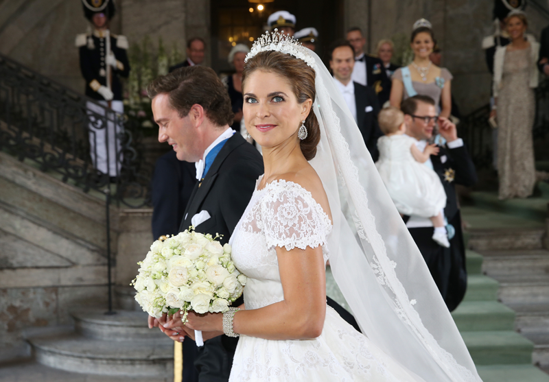 Royal Wedding: Princess Madeleine says 'I do' at lavish ...