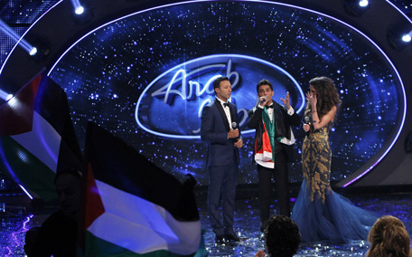 Arab idol winner mohammad assaf 39 s first 39 live 39 show in for Assaf lebanese cuisine