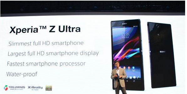 quality design 3d1ff 4203f Forget iPhone 6, you can write on Sony Xperia Z Ultra's 6.4-inch ...