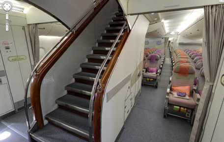 Google Offers Virtual Tour Of A380 Superjumbo Emirates24 7