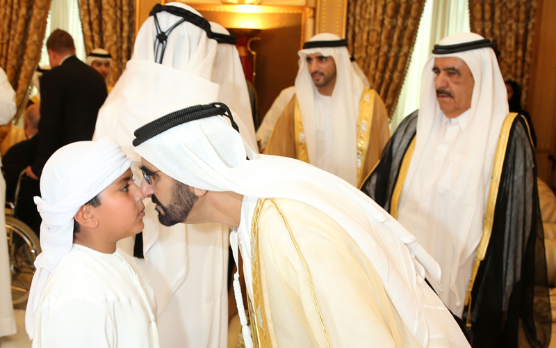 Sheikh Mohammed exchanges Eid greetings with Rulers