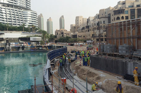 Which is the best spot to watch dubai fountain show from 1 2 3 sciox Choice Image