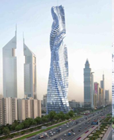 Rotating Tower In Dubai Dh2bn Emirates 24 7
