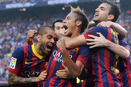 barcelona score