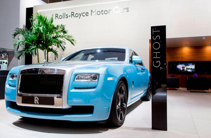 Diamond Studded Celestial Phantom Rolls Royce In Dubai