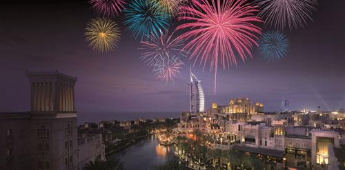 Fireworks over Madinat Jumeirah