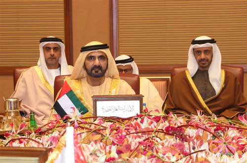 His Highness Sheikh Mohammed bin Rashid Al Maktoum attends 34th GCC summit which concluded in Kuwait this afternoon. (Wam)