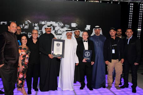 Photos courtesy of DubaiWorldRecord2014