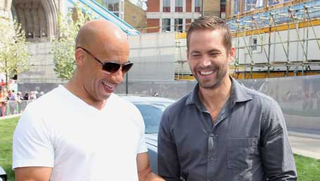 Hollywood actor Vin Diesel with 'Fast and Furious' co-star Paul Walker. (FACEBOOK: Vin Diesel)
