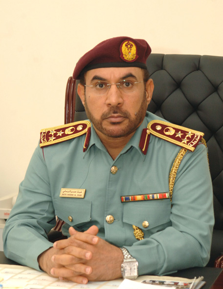 Brigadier Ghaith Hassan Al Zaabi, Director General of the Directorate of Traffic Coordination (Supplied)