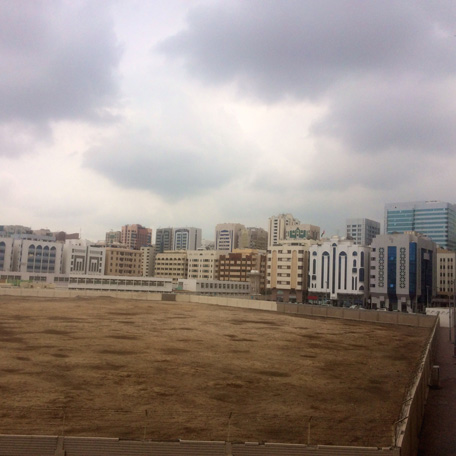 The area around Madinat Zayed in Abu Dhabi today. (Pic: John Rajan)