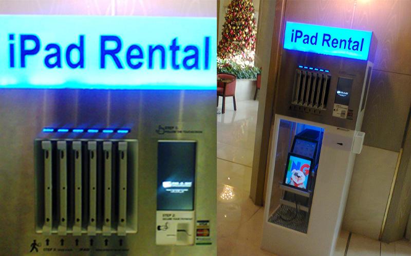 rent golden machine