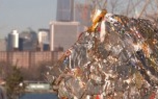 Photo: NY opens one of the world's biggest recycling facilities