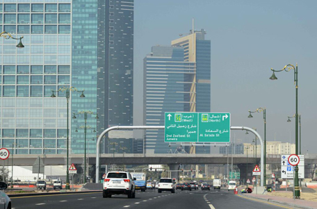 Renaming of Al Khail First Road as Al Saada Road, starting from near the World Trade Centre. (Pic: RTA)