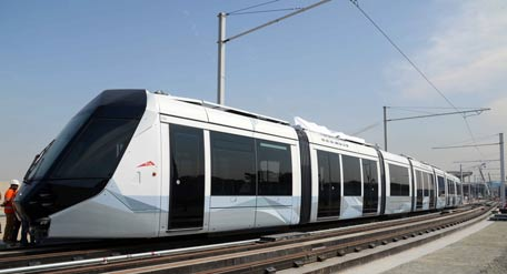 Dubai Tram is 100 days old today. (Supplied)