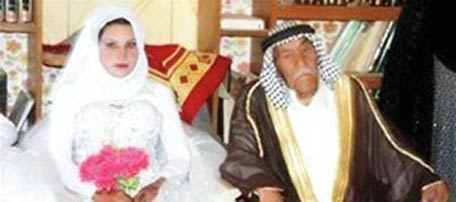 young girl married to old man