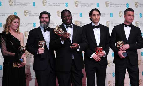 BAFTAs: 'Gravity' bags 6, but '12 Years a Slave' wins the