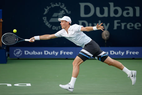 Czech Tomas Berdych entered his second straight Dubai final. (SUPPLIED)
