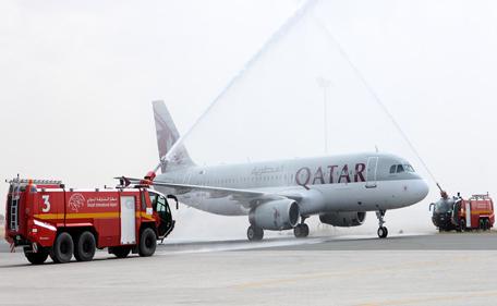 Qatar Airways flight has been diverted to Manchester. (Supplied)