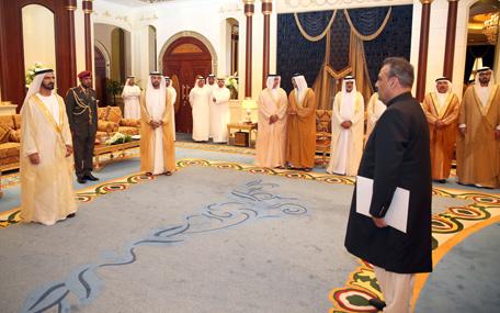 Mohammed receives ambassador of Islamic Republic of Pakistan (Wam)