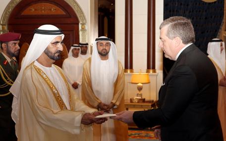 Mohammed receives ambassador of France (Wam)
