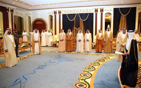 Mohammed receives ambassador of Kingdom of Saudi Arabia (Wam)
