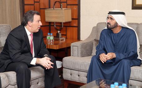 Mohammed bin Rashid receives Mexican FM (Wam)