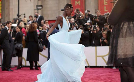 Lupita Nyong'o wins the Best Supporting Actress Oscar for her role in '12 Years a Slave'.