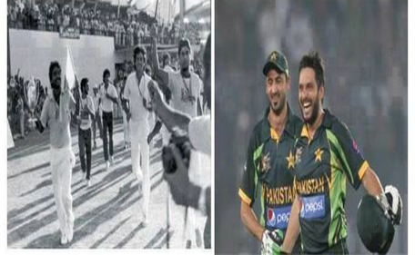 Six of fate: Afridi blasts India back to 1986 (and Miandad ...
