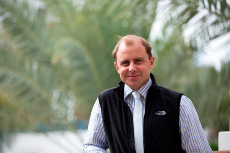 Toby Scruby, General Manager, Al Futtaim Marine (Supplied)