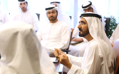 His Highness Sheikh Mohammed bin Rashid Al Maktoum chairs brainstorming session (Wam)