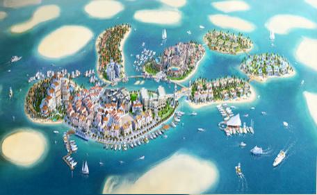 Floating Villas On Sale On The World In Dubai Emirates 24 7