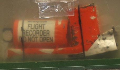 As the hunt for the MH320 black box intensifies, these are the two flight recorders of the Air France flight 447, which crashed in 2009, in Le Bourget, near Paris. Geoff Dell, discipline leader of accident investigation at Central Queensland University, said if the black boxes of a missing Malaysia Airlines Flight MH370 were several kilometers (miles) deep, ships might need to be almost directly over them before the signal could detect them. If found in deep water, Dell expected that unmanned submarines would be needed to retrieve them. That's how the black box from Air France Flight 447 was retrieved in May 2011, almost two years after the Airbus A330 crashed with the loss of 228 lives. (AFP)