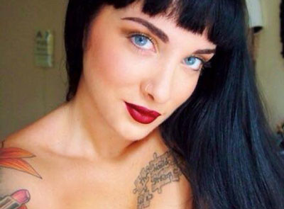 Lauren Urasek is shooting to fame as 'most popular woman' on dating site 'OKCupid'. (Facebook)