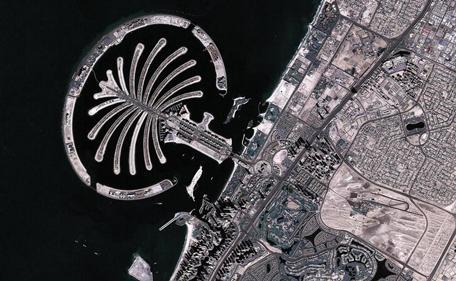 Вид с космоса дубай продажа недвижимости грузии